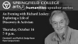 Richard Leakey Lecture ad_The Student_10x5